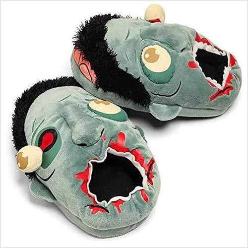 Zombie Plush Slippers-Toy - www.Gifteee.com - Cool Gifts \ Unique Gifts - The Best Gifts for Men, Women and Kids of All Ages