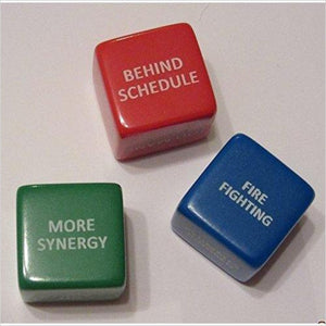 "Engineer ""Excuse"" Dice - Find unique decor gifts for the office and workplace, get cool gadgets for your office desk and cubicle at Gifteee Cool gifts, Unique decor Gifts for the office and workplace"