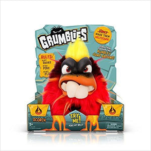 Grumblies Scorch - Find unique gifts for a newborn baby and cool gifts for toddlers ages 0-4 year old, gifts for your kids birthday or Christmas, special baby shower gifts and age reveal gifts at Gifteee Unique Gifts, Cool gifts for babies and toddlers