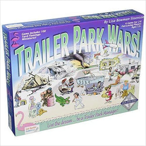 Trailer Park Wars - Find funny gift ideas, the best gag gifts, gifts for pranksters that will make everybody laugh out loud at Gifteee Cool gifts, Funny gag Gifts for adults and kids