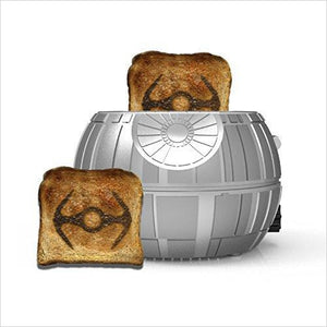 Star Wars Death Star Toaster - Find unique gifts that will get you kids eating well and eating healthy with unique foodie gifts for kids dinner and the kitchen at Gifteee Cool gifts, Unique Gifts that will make kids enjoy eating