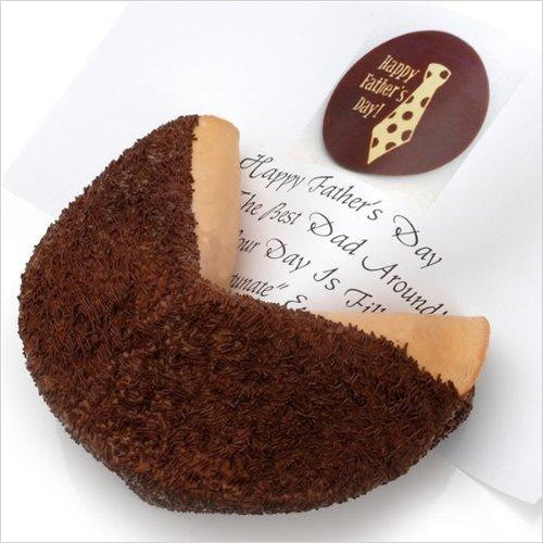 Milk Chocolate Giant Fortune Cookie-Grocery - www.Gifteee.com - Cool Gifts \ Unique Gifts - The Best Gifts for Men, Women and Kids of All Ages