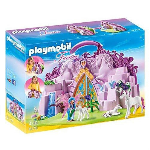 PLAYMOBIL Take Along Fairy Unicorn Garden-Toy - www.Gifteee.com - Cool Gifts \ Unique Gifts - The Best Gifts for Men, Women and Kids of All Ages
