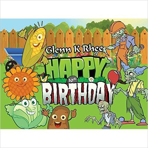 Customized Birthday Poster for Kids - Video Game Style-Guild Product - www.Gifteee.com - Cool Gifts \ Unique Gifts - The Best Gifts for Men, Women and Kids of All Ages