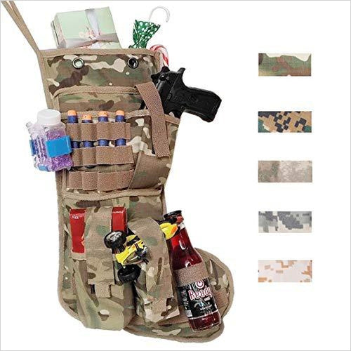 US Military Christmas Stocking - Gifteee. Find cool & unique gifts for men, women and kids