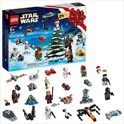 LEGO Star Wars 2019 Advent Calendar - Find unique gifts for Star Wars fans, new star wars games and Star wars LEGO sets, star wars collectibles, star wars gadgets and kitchen accessories at Gifteee Cool gifts, Unique Gifts for Star Wars fans