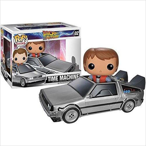 Funko POP Movie: Back to The Future - Marty McFly & The Delorean-Toy - www.Gifteee.com - Cool Gifts \ Unique Gifts - The Best Gifts for Men, Women and Kids of All Ages