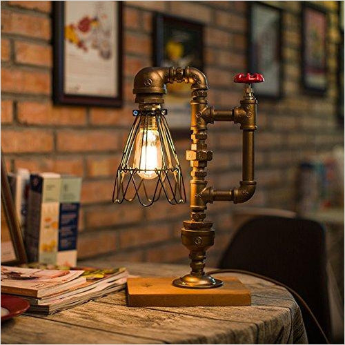Pipe Desk Lamp - Gifteee. Find cool & unique gifts for men, women and kids