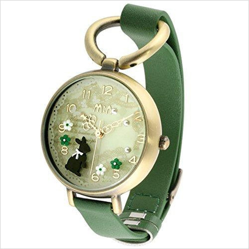 Rabbit Girl's Women's Wrist Watche - Gifteee. Find cool & unique gifts for men, women and kids