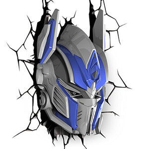 Transformers Optimus Prime 3D Deco Light - Find unique gifts for boys age 5-11 year old, gifts for your son, gifts for your kids birthday or Christmas, gifts for you children classmates and friends at Gifteee Unique Gifts, Cool gifts for boys