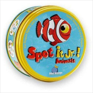 Spot It! JR. Animals-Toy - www.Gifteee.com - Cool Gifts \ Unique Gifts - The Best Gifts for Men, Women and Kids of All Ages
