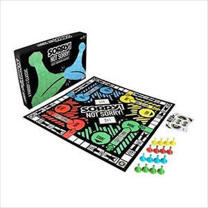 Sorry! Not Sorry Board Game - Parody Version of the Classic Game-Toy - www.Gifteee.com - Cool Gifts \ Unique Gifts - The Best Gifts for Men, Women and Kids of All Ages