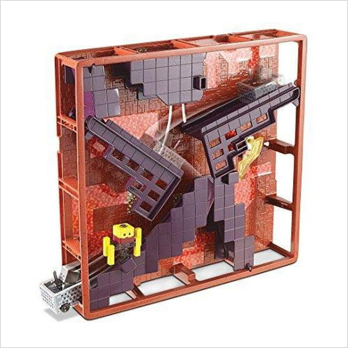 Hot Wheels Minecraft Track Blocks Nether Fortress Play Set-Toy - www.Gifteee.com - Cool Gifts \ Unique Gifts - The Best Gifts for Men, Women and Kids of All Ages