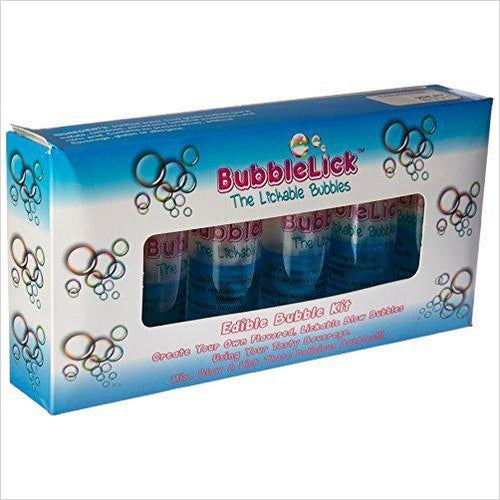 Safe Edible Bubbles (6 Pack) - Find unique gifts that will get you kids eating well and eating healthy with unique foodie gifts for kids dinner and the kitchen at Gifteee Cool gifts, Unique Gifts that will make kids enjoy eating