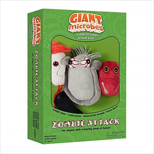 Plush Zombie Attack - Find the most unique and unusual gifts. Weird gifts ideas that you never saw before. unusual gadgets, unique products that simply very odd at Gifteee Odd gifts, Unusual Gift ideas