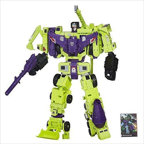 Transformers Generations Combiner Wars Devastator Figure Set-Toy - www.Gifteee.com - Cool Gifts \ Unique Gifts - The Best Gifts for Men, Women and Kids of All Ages