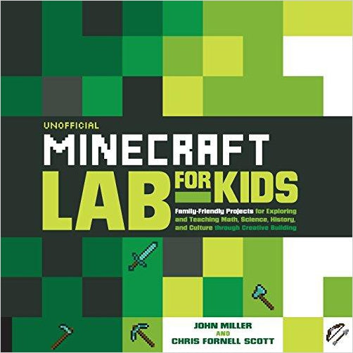 Unofficial Minecraft Lab for Kids-Book - www.Gifteee.com - Cool Gifts \ Unique Gifts - The Best Gifts for Men, Women and Kids of All Ages