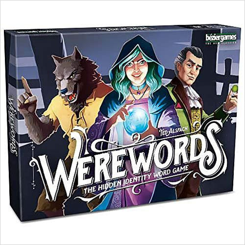Werewords-Toy - www.Gifteee.com - Cool Gifts \ Unique Gifts - The Best Gifts for Men, Women and Kids of All Ages