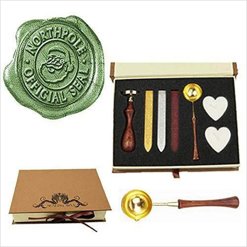 Wax Seal Stamp Set - Gifteee. Find cool & unique gifts for men, women and kids