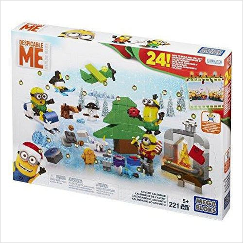 Mega Bloks Minions Movie Advent Calendar - Find unique gifts for a newborn baby and cool gifts for toddlers ages 0-4 year old, gifts for your kids birthday or Christmas, special baby shower gifts and age reveal gifts at Gifteee Unique Gifts, Cool gifts for babies and toddlers