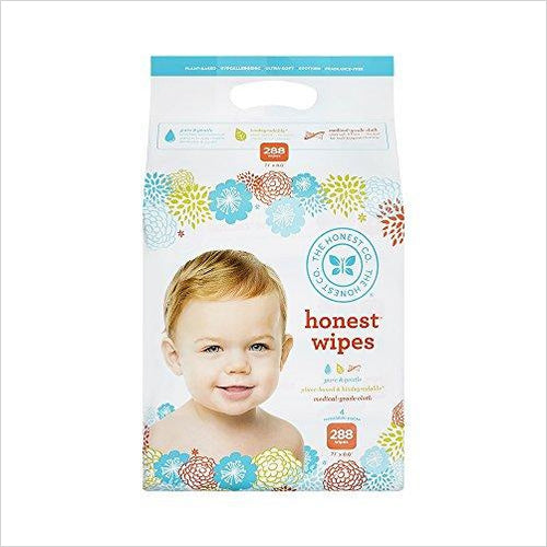 The Honest Company Baby Wipes - Find unique gifts for a newborn baby and cool gifts for toddlers ages 0-4 year old, gifts for your kids birthday or Christmas, special baby shower gifts and age reveal gifts at Gifteee Unique Gifts, Cool gifts for babies and toddlers