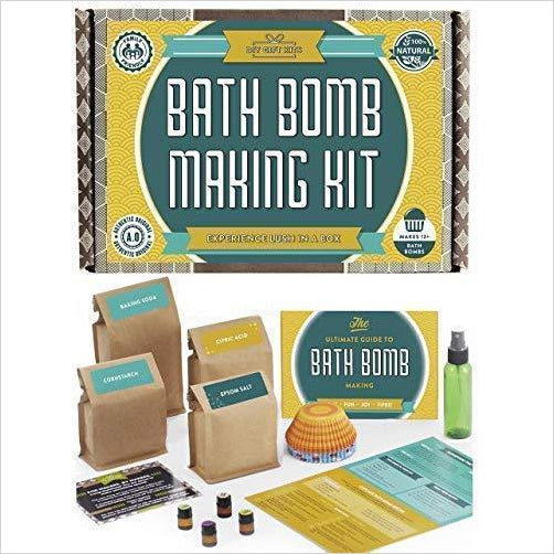 Bath Bomb Making Kit-Health and Beauty - www.Gifteee.com - Cool Gifts \ Unique Gifts - The Best Gifts for Men, Women and Kids of All Ages