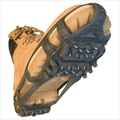 Walk Traction Ice Cleat and Tread-Sports - www.Gifteee.com - Cool Gifts \ Unique Gifts - The Best Gifts for Men, Women and Kids of All Ages