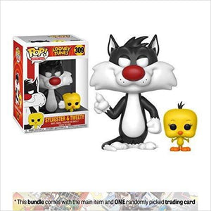 Funko Sylvester & Tweety POP! Animation x Looney Tunes Vinyl Figure-Toy - www.Gifteee.com - Cool Gifts \ Unique Gifts - The Best Gifts for Men, Women and Kids of All Ages