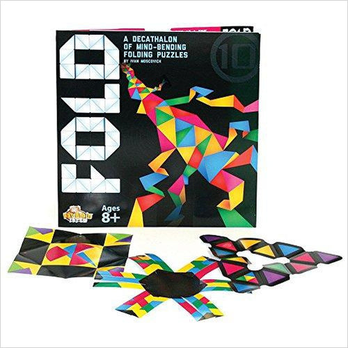 Fold Origami Brainteaser-Toy - www.Gifteee.com - Cool Gifts \ Unique Gifts - The Best Gifts for Men, Women and Kids of All Ages