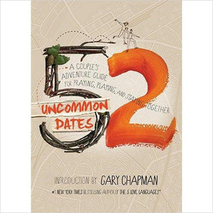 52 Uncommon Dates: A Couple's Adventure Guide for Praying, Playing, and Staying Together-book - www.Gifteee.com - Cool Gifts \ Unique Gifts - The Best Gifts for Men, Women and Kids of All Ages