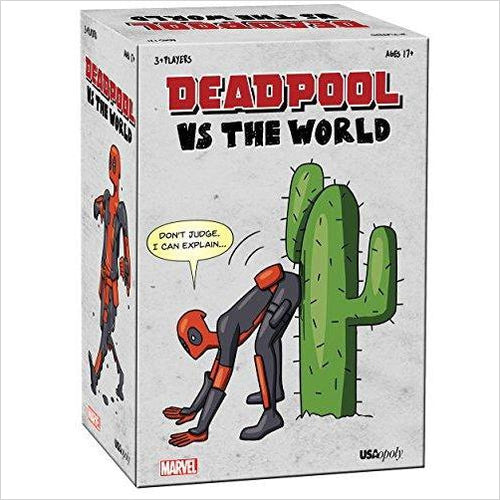 Deadpool vs The World-Toy - www.Gifteee.com - Cool Gifts \ Unique Gifts - The Best Gifts for Men, Women and Kids of All Ages