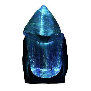 Fiber Optic Sleeveless Hoodie-Apparel - www.Gifteee.com - Cool Gifts \ Unique Gifts - The Best Gifts for Men, Women and Kids of All Ages