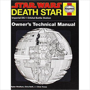 Death Star Owner's Technical Manual: Star Wars: Imperial DS-1 Orbital Battle Station - Gifteee - Best Gift Ideas for Parents and Kids