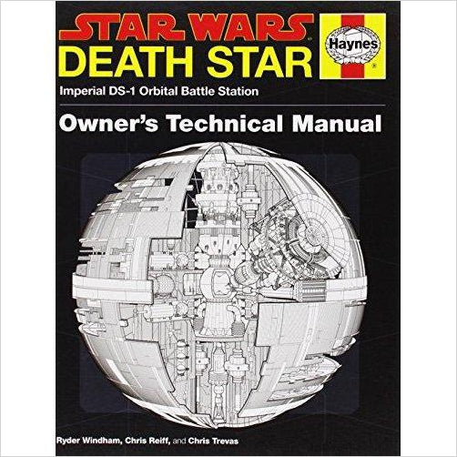Death Star Owner's Technical Manual: Star Wars: Imperial DS-1 Orbital Battle Station-book - www.Gifteee.com - Cool Gifts \ Unique Gifts - The Best Gifts for Men, Women and Kids of All Ages