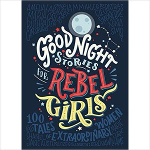 Good Night Stories for Rebel Girls-Book - www.Gifteee.com - Cool Gifts \ Unique Gifts - The Best Gifts for Men, Women and Kids of All Ages