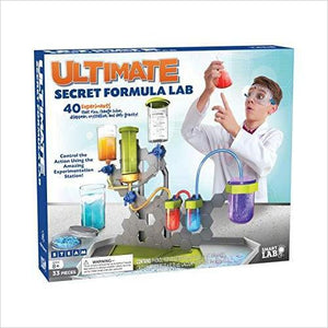 Ultimate Secret Formula Lab-Toy - www.Gifteee.com - Cool Gifts \ Unique Gifts - The Best Gifts for Men, Women and Kids of All Ages