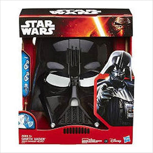 Star Wars Darth Vader Voice Changer Helmet - Find unique for sound lovers, for music fans, for musicians, composers and everybody that love unique sound related gifts at Gifteee Cool gifts, Unique Gifts for sound and music