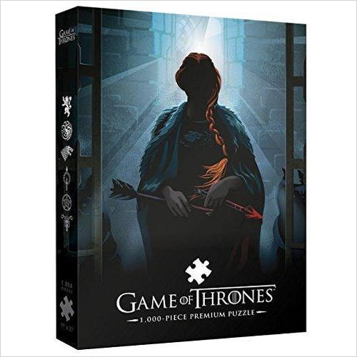 Game of Thrones Premium Puzzle: Your Name Will Disapear 1000 Piece Puzzle - Gifteee. Find cool & unique gifts for men, women and kids