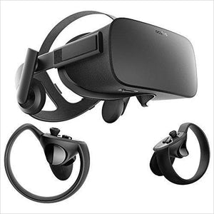 Oculus Rift + Touch Virtual Reality System-Video Games - www.Gifteee.com - Cool Gifts \ Unique Gifts - The Best Gifts for Men, Women and Kids of All Ages
