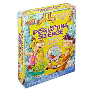 Disgusting Science Kit - Unique gifts - Cool Gifts - Men Women Kids