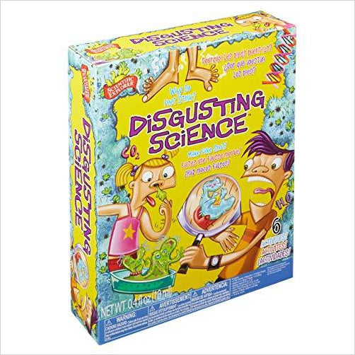 Disgusting Science Kit-Toy - www.Gifteee.com - Cool Gifts \ Unique Gifts - The Best Gifts for Men, Women and Kids of All Ages