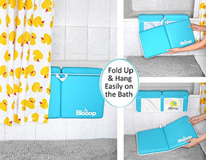 Bath Kneeler with Elbow Rest Pad and Organizer
