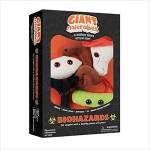 Biohazards Plush Toys - Find unique STEM gifts find science kits, educational games, environmental gifts and toys for boys and girls at Gifteee Cool gifts, Unique Gifts for science lovers