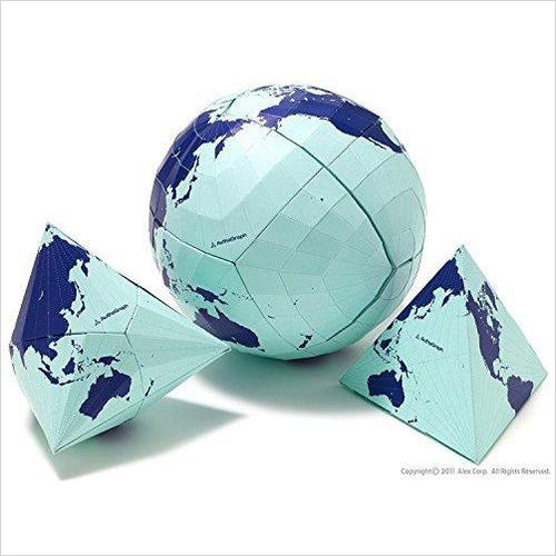 AuthaGraph Globe - The World's Most Accurate Globe.-Office Product - www.Gifteee.com - Cool Gifts \ Unique Gifts - The Best Gifts for Men, Women and Kids of All Ages