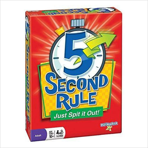 Patch 5 Second Rule Game-Toy - www.Gifteee.com - Cool Gifts \ Unique Gifts - The Best Gifts for Men, Women and Kids of All Ages