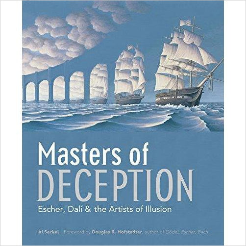 Masters of Deception: Escher, Dalí & the Artists of Optical Illusion-Book - www.Gifteee.com - Cool Gifts \ Unique Gifts - The Best Gifts for Men, Women and Kids of All Ages