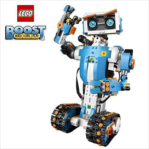 LEGO Boost Creative Toolbox - Find the newest innovations, cool gadgets to use at home, at the office or when traveling. amazing tech gadgets and cool geek gadgets at Gifteee Cool gifts, Unique Tech Gadgets and innovations
