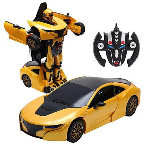 Transformers Robot Remote Control Car-Toy - www.Gifteee.com - Cool Gifts \ Unique Gifts - The Best Gifts for Men, Women and Kids of All Ages