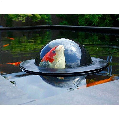 Floating Fish Dome-Lawn & Patio - www.Gifteee.com - Cool Gifts \ Unique Gifts - The Best Gifts for Men, Women and Kids of All Ages