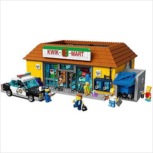 LEGO Simpsons the Kwik-E-Mart Building Kit - Gifteee. Find cool & unique gifts for men, women and kids